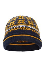 Snow Knitted Kids Beanie