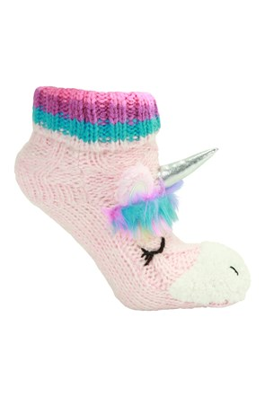 Unicorn Kids Grippi Socks