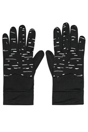 Illuminate Mens Stretch Running Gloves