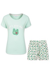 Avocado Pyjamas Short Set
