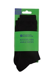 IsoCool Kids Ankle Socks - 3 Pack