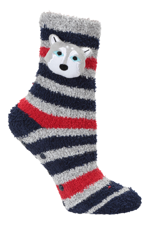 Lightweight Double-layer Womens Walking Socks - Grey