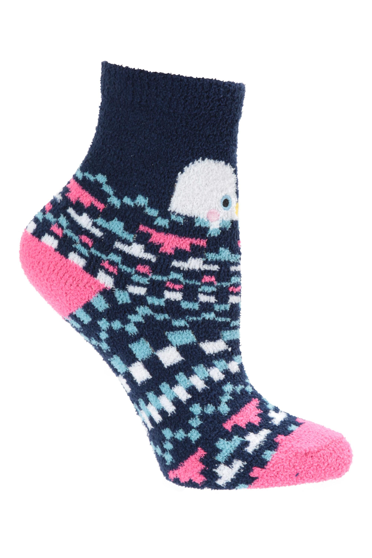 Children Teens Brushed Thermal Socks Winter Warm Cosy 1.8 Tog Heat Insulator Kid