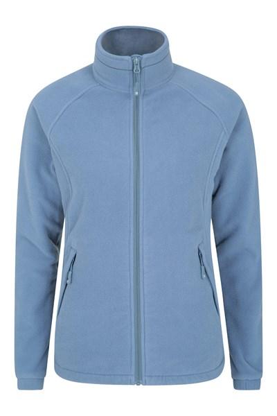 Bernard Full Zip Womens Fleece - Blue