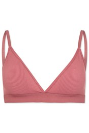 Ribbed Triangle Lounge Seamless Bra