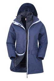 Glacial Extreme Long 3-in-1 Womens Jacket