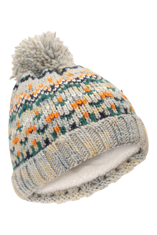 Mountain Warehouse Kid Christmas Knitted Kids Beanie Winter Hat