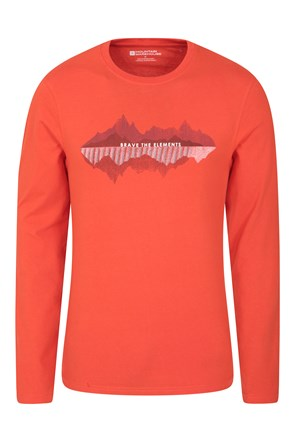Brave The Elements Long Sleeved Mens Top