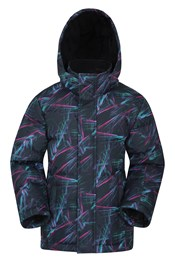 Snow Kids Printed Padded Jacket