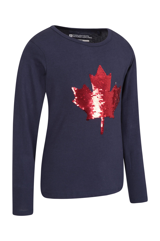 Mountain Warehouse Sequin Robin KIDS tee tshirt
