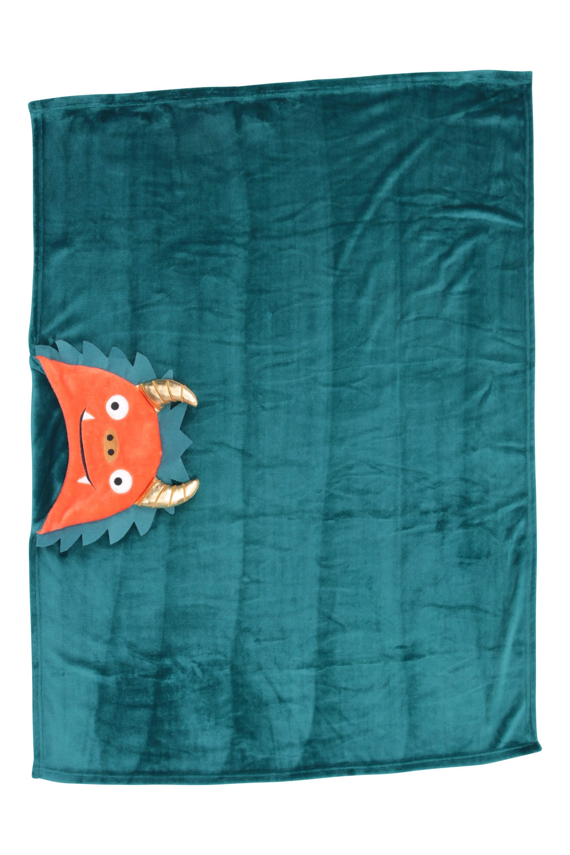 Couverture à Capuche Enfant - 125 x 90cm - Sarcelle