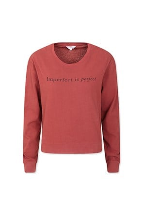Imperfect Is Perfect Womens Sweatshirt
