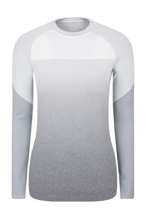 Off-Piste Ombre Seamless Womens Thermal Top