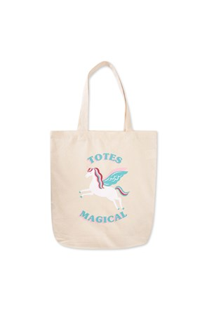 Printed Canvas Tote Bag