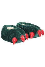 Neon Sheep Monster Feet Novelty Slippers