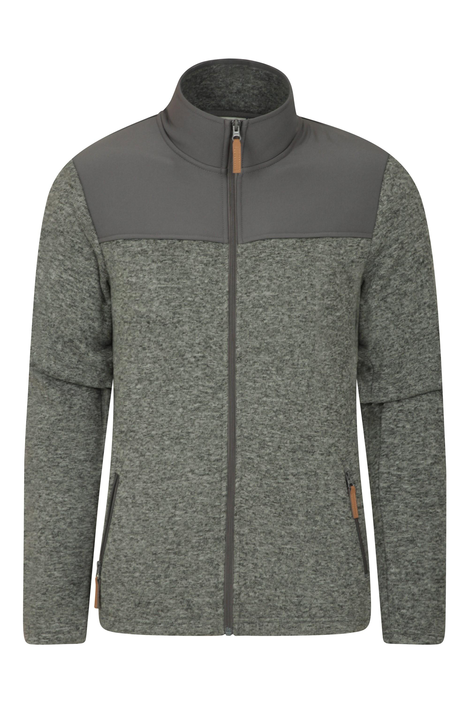 Warm Winter Sweater Mountain Warehouse Buchanan Mens Fleece