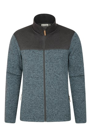 Idris II Mens Full-Zip Fleece