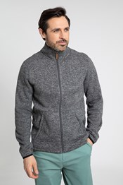Idris II Mens Full-Zip Fleece Jacket