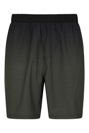 Hurdle Printed Mens Running Shorts