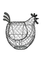 Neon Sheep Wired Chicken Egg Basket