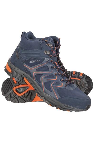 Shadow Mens Waterproof Softshell Boots - Navy
