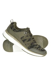 Camo Mens Knit Trainers
