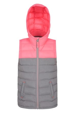 Seasons Kids Padded Water Resistant Gilet