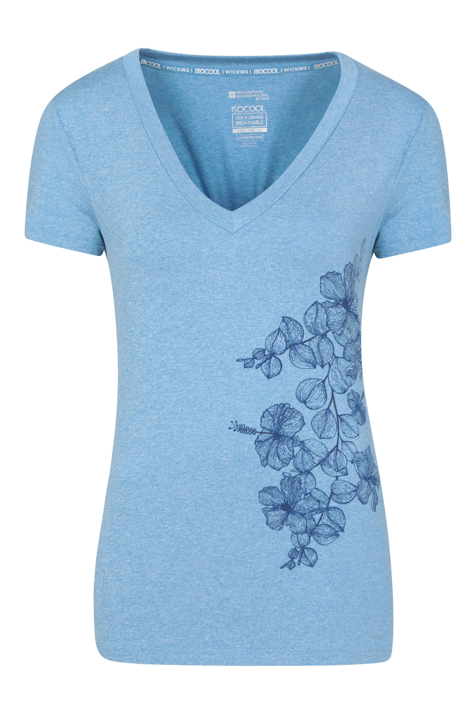 Mountain Warehouse Lake Time Printed Womens Tee Tshirt