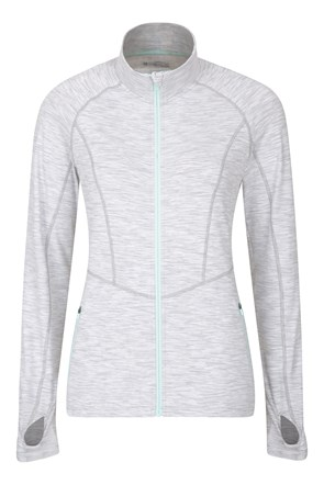 034514 VINYASSA WOMENS FULL ZIP MIDLAYER