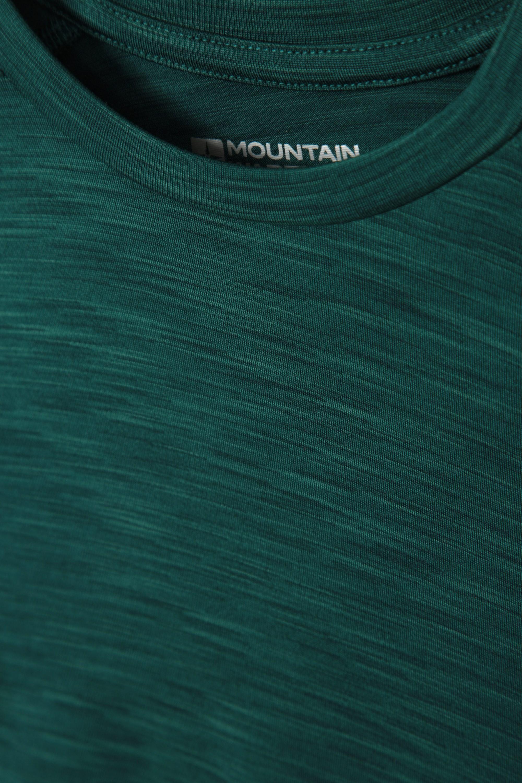 7-8 ans Mountain Warehouse Kid Space Dye Garçons Tee en vert foncé