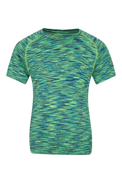 Space Dye Boys T-Shirt - Green
