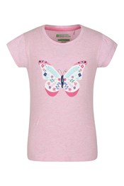 Sequin Butterfly Kids T-Shirt