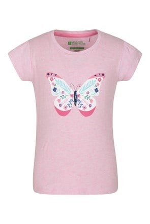 Sequin Butterfly Kids Tee