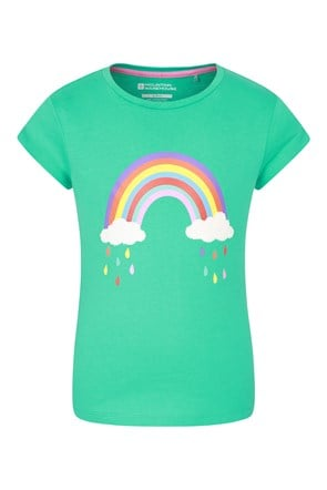 Camiseta Awesome Boucle Rainbow Niños