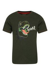 Roarsome Glow in the Dark Dino Kids T-Shirt
