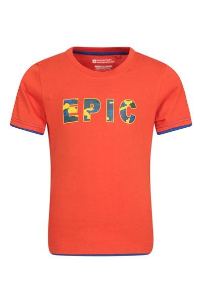 Epic Kids T-Shirt - Orange