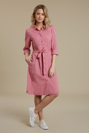 Manhatten Chambray Damen Hemdkleid