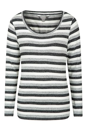 Stripe Womens Knitted Sweater