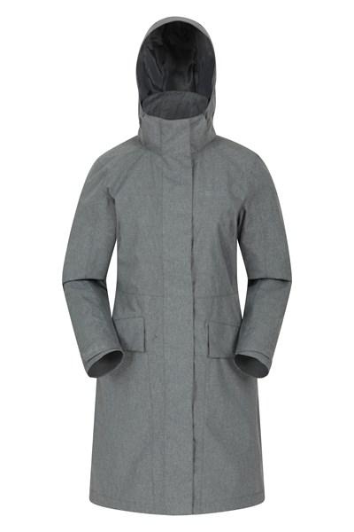 Commuter Womens Waterproof Jacket - Grey