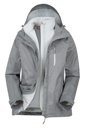 Climb Womens 3 in 1 Jacket