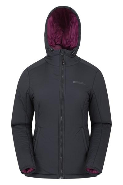 Cloud Womens Padded Jacket - Black