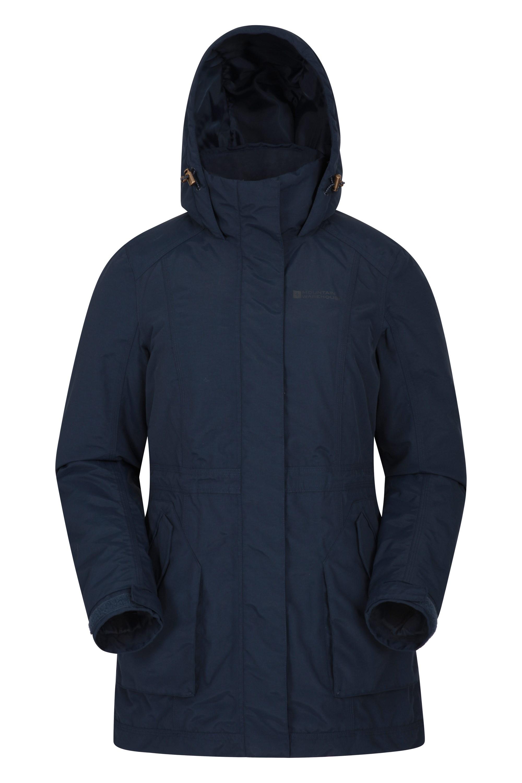 Street - pikowana kurtka damska - Navy
