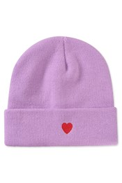 Colour Block Embroidered Beanie