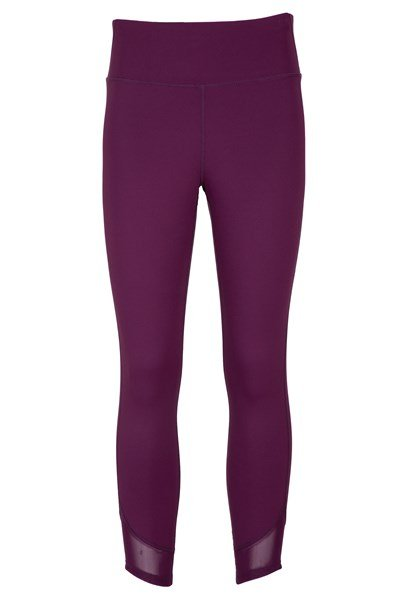 Mesh Motion Womens Leggings - Burgundy