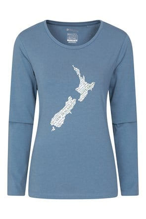 New Zealand Printed Womens Top