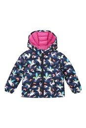 Printed Baby Seasons Padded Jacket