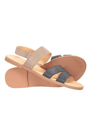 Vacation Womens Leather Sandal