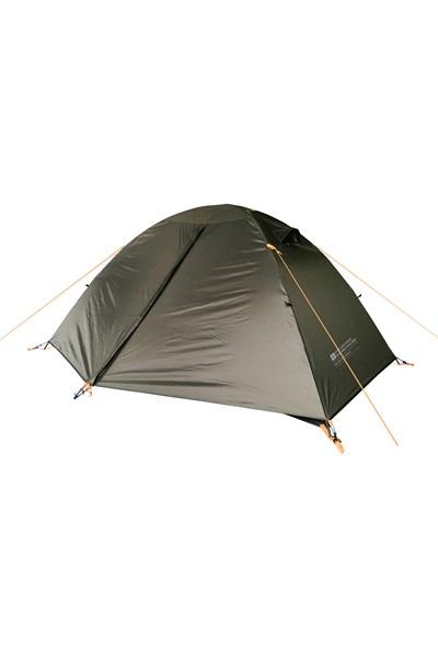 Backpacker Lightweight Dome 2 Man Tent - Green