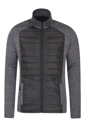Eclipse Padded Mens Full-Zip Midlayer