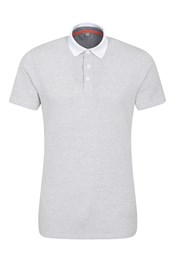 Geo Jacquard Mens Polo